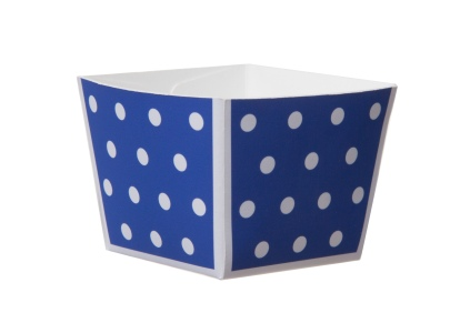 WHB_Fall Festive_Cube Baking Cup_Blue