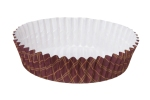 WHB_Lattice Ruffled Baking Cups_Brown